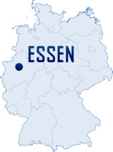 Mapa Německa - Essen